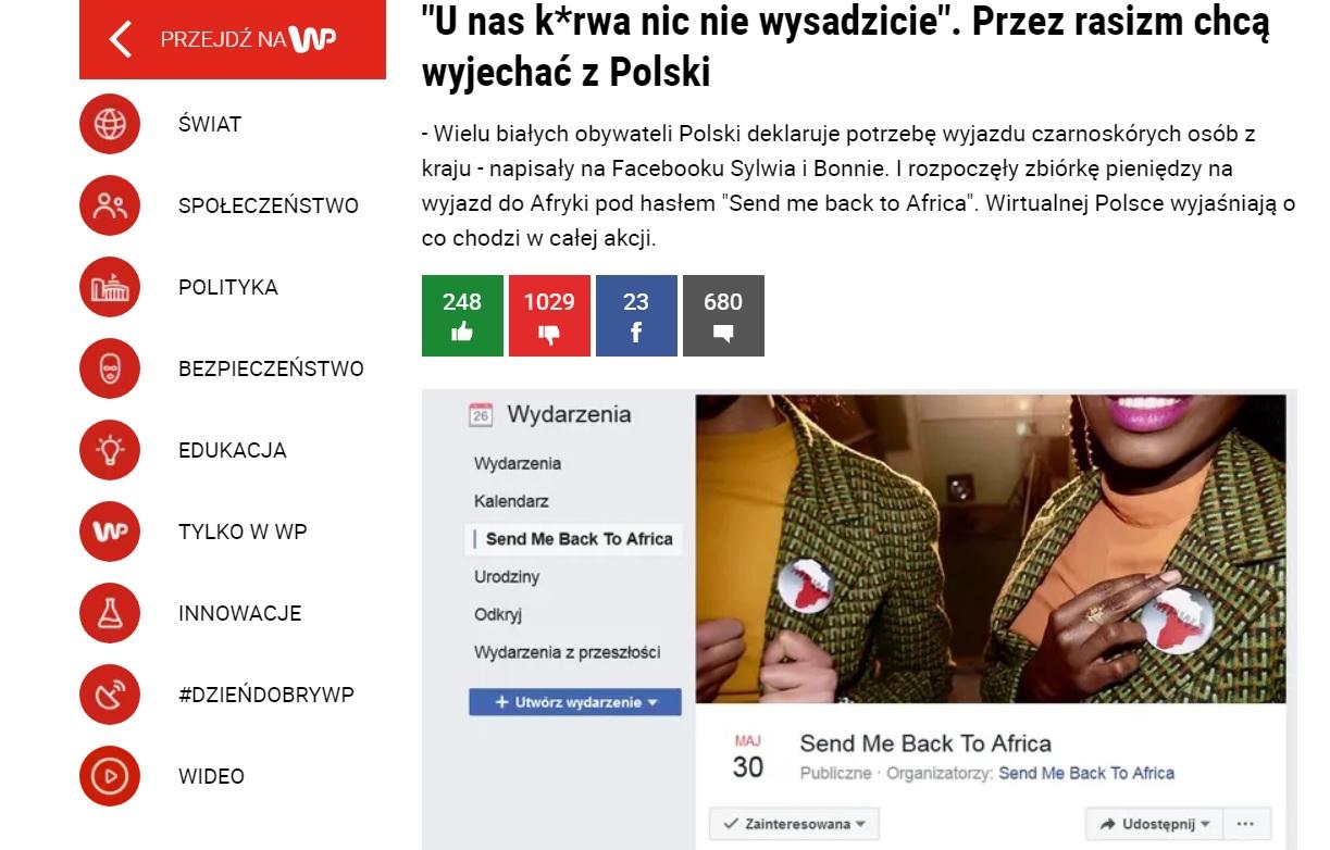 """""""U nas k*rwa nic nie wysadzicie"""". Przez rasizm chcą wyjechać z Polski"""